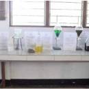 Laboratory model for production of biofuel from Jatropha plants
