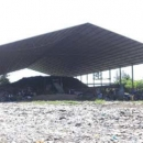 Phase 1 composting building of 2340 m2 (30 tons/day)